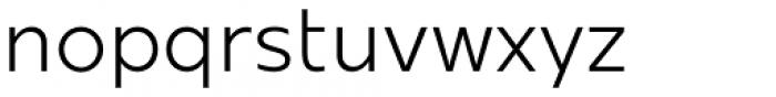 Mollen Semi Light Font LOWERCASE