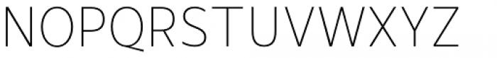 Mollen Thin Narrow Font UPPERCASE