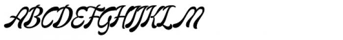 Mommie Brush Medium Font UPPERCASE