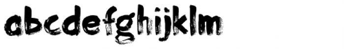 Momotaro Font LOWERCASE