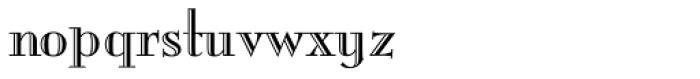 Mona Lisa Recut OS Font LOWERCASE