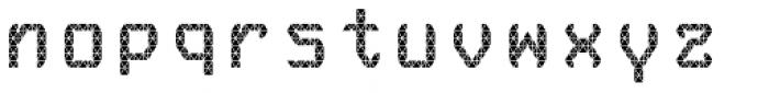 Monadic Regular Font LOWERCASE