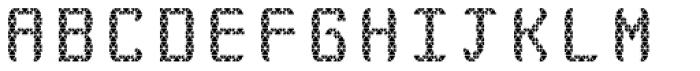 Monadic Rounded Font UPPERCASE