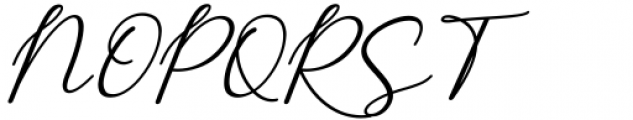 Monallesia Monallesia Script Italic Font UPPERCASE