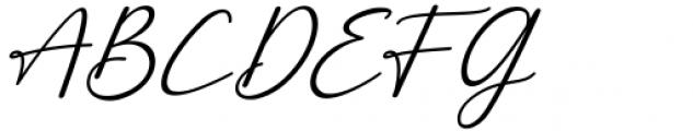 Monallesia Script Italic Font UPPERCASE