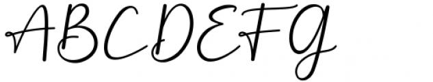 Monallesia Script Regular Font UPPERCASE