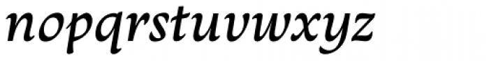 Monarcha Italic Font LOWERCASE