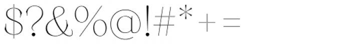 Monckeberg Alt Extra Light Font OTHER CHARS