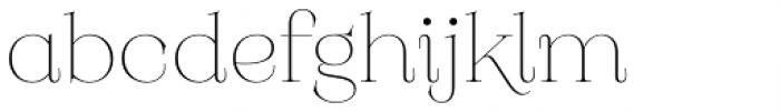 Monckeberg Alt Extra Light Font LOWERCASE