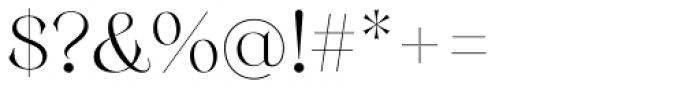 Monckeberg Alt Light Font OTHER CHARS
