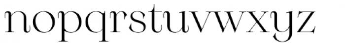 Monckeberg Alt Light Font LOWERCASE