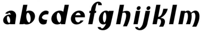 Monde Libre Oblique 11º Font LOWERCASE