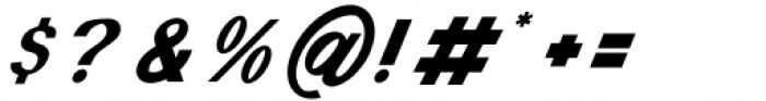 Monde Libre Oblique 22º Font OTHER CHARS