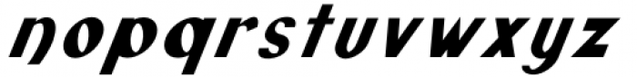 Monde Libre Oblique 22º Font LOWERCASE