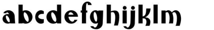Monde Libre Regular Font LOWERCASE