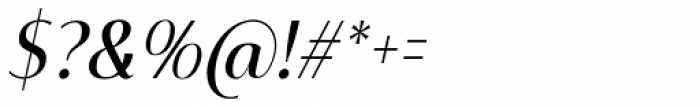 Mondish Regular Italic Font OTHER CHARS