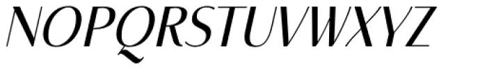 Mondish Regular Italic Font UPPERCASE