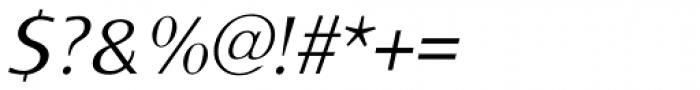 Monem ExtraLight Italic Font OTHER CHARS