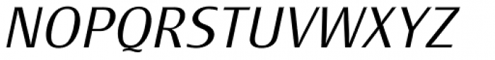 Monem ExtraLight Italic Font UPPERCASE
