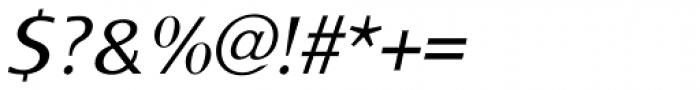 Monem Light Italic Font OTHER CHARS