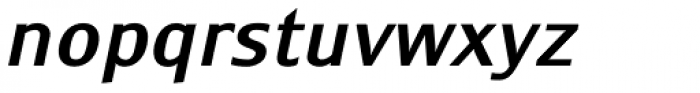 Monem Medium Italic Font LOWERCASE