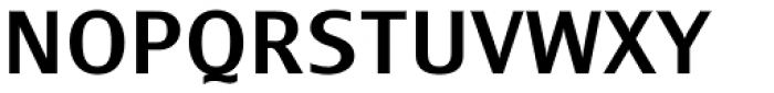 Monem Medium Font UPPERCASE