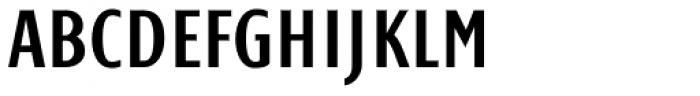 Monem Normal Condensed Font UPPERCASE
