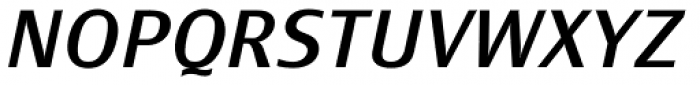Monem Normal Italic Font UPPERCASE