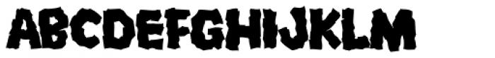 Mongo Font UPPERCASE