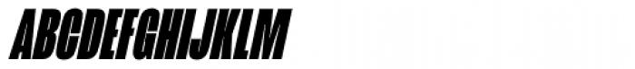 Mongoose Black Italic Font UPPERCASE