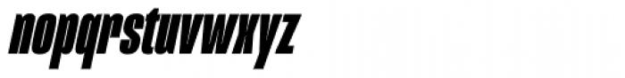 Mongoose Black Italic Font LOWERCASE
