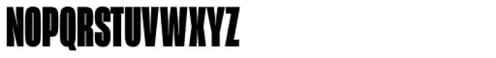 Mongoose Black Font UPPERCASE