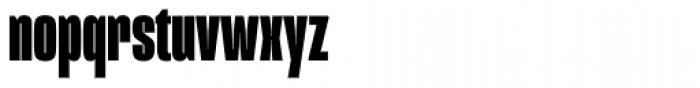 Mongoose Black Font LOWERCASE