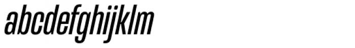 Mongoose Italic Font LOWERCASE