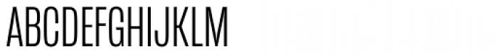 Mongoose Light Font UPPERCASE
