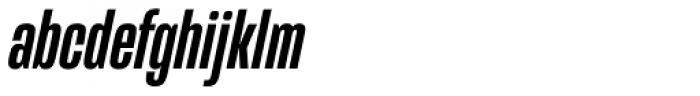 Mongoose Medium Italic Font LOWERCASE