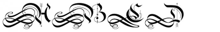 Monkeytails Normal Font UPPERCASE