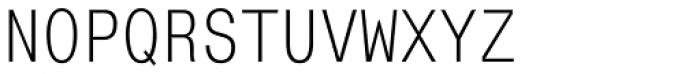 Mono Condensed Font UPPERCASE