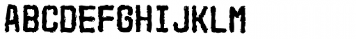 Mono Iltra Font UPPERCASE