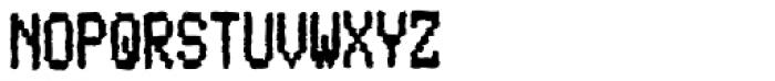 Mono Neox Font UPPERCASE