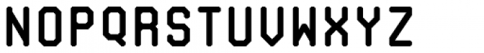 Mono RGO Pro Medium Font LOWERCASE