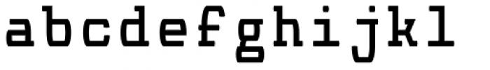 Monocolo Font LOWERCASE