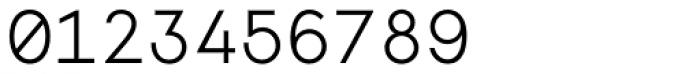 Monoela Light Font OTHER CHARS