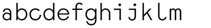 Monoela Light Font LOWERCASE
