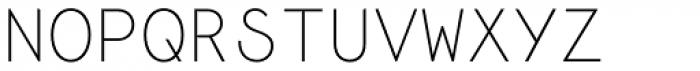 Monoela Thin Font UPPERCASE