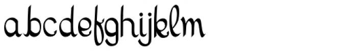 Monogram Font LOWERCASE
