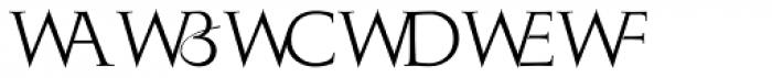 Monogramma WX Font UPPERCASE