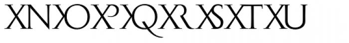 Monogramma WX Font LOWERCASE