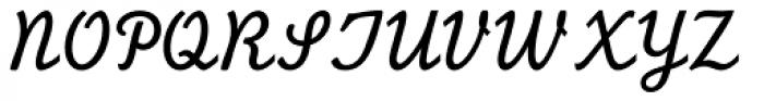 Monoline Script MT Std Font UPPERCASE