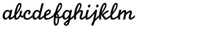 Monoline Script MT Std Font LOWERCASE